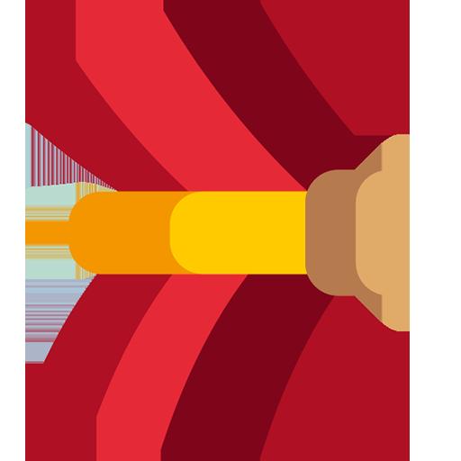Tie back icon